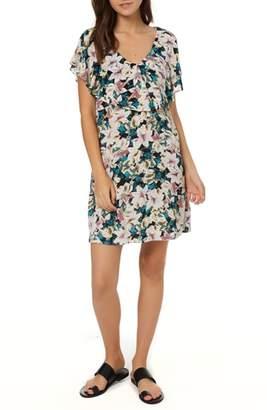 O'Neill Miran Floral Print Woven Dress