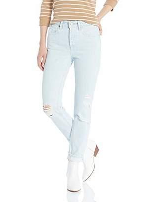 Volcom Junior's Women's Super Stoned Skinny Fit Ankle Denim Pant