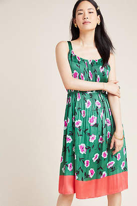 Anthropologie Mireille Pleated Dress