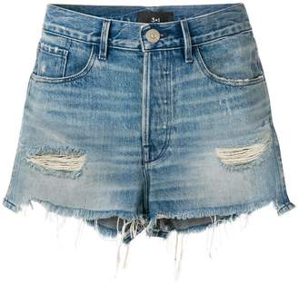 3x1 W2 Mason denim shorts