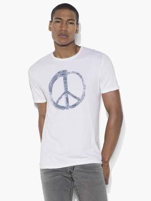 a0544441 John Varvatos Peace Symbol Graphic Tee