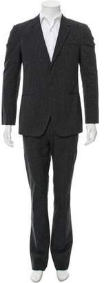 Calvin Klein Collection Two-Button Two-Piece Suit