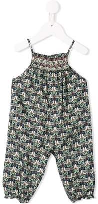 Bonpoint bird print jumpsuit