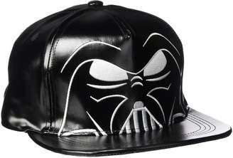Star Wars Men's Darth Vader Big Face Adjustable Baseball Cap