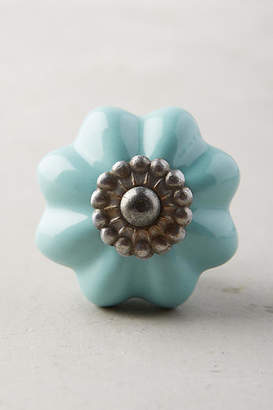 Anthropologie Ceramic Melon Knob