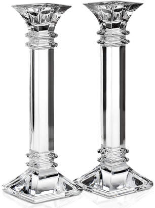 "Marquis by Waterford Treviso Candlestick, 10"" Pair"