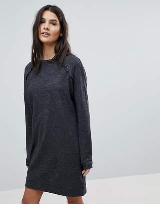 Esprit Frill Detail Knitted Dress