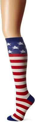 K. Bell K-Bell Women's American Flag Knee High
