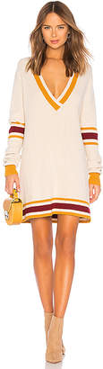 For Love & Lemons ivy League Sweater Dress