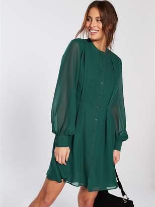 Warehouse Full Sleeve Shirt Dress