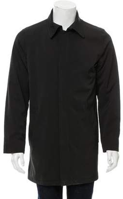 Tumi Tech Knee-Length Collared Jacket