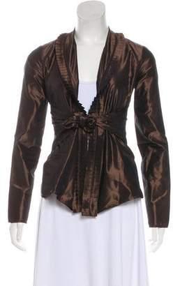 Etro Silk Long Sleeve Top