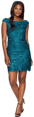 Lauren Ralph Lauren Raydonna Cap Sleeve Day Dress Women's Dress