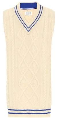 Maison Margiela Wool-blend sweater dress