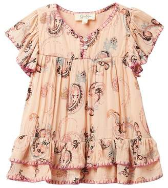 Jessica Simpson Crinkle Top (Little Girls)