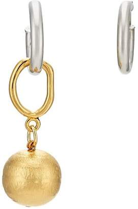 Mounser Women's Classic Sculpture Earrings - Gold