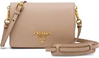 Prada classic logo shoulder bag