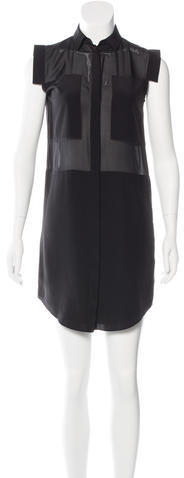 Alexander Wang T by Alexander Wang Silk Shirt Dress