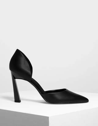 Charles & Keith Pointed D'orsay Heels