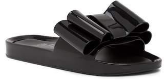 Melissa Beach Bow Jelly Slide Sandal