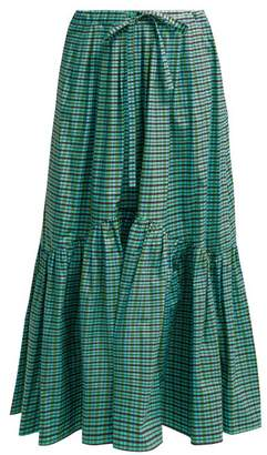 Max Mara Eloisa Skirt - Womens - Green Print