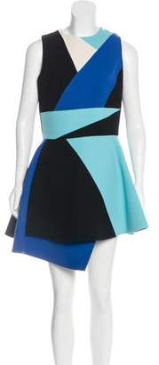 Fausto Puglisi Wool Asymmetrical Dress