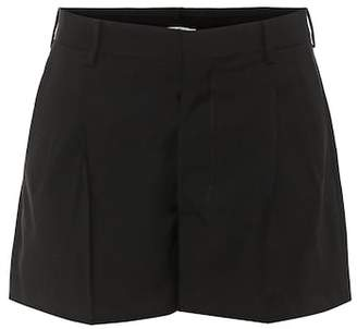 Miu Miu Wool and mohair shorts