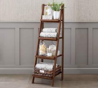 Pottery Barn Ladder Floor Storage