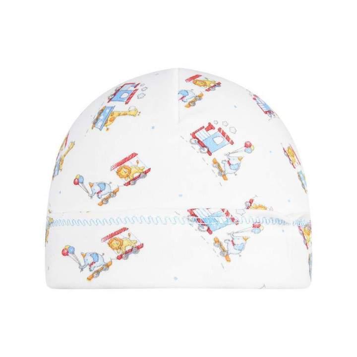 Magnolia BabyBaby Boys White Choo Choo Hat