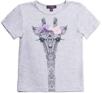 Imoga Girl's Amita Tee - Giraffe Melange