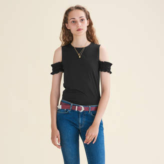 Maje Off-the-shoulder sleeveless top