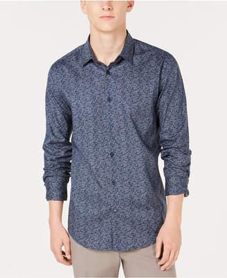 Alfani Men's Woven Geometric Shirt
