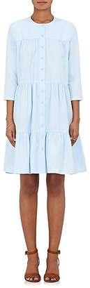Barneys New York Women's Cotton Poplin Button-Front Shirtdress $475 thestylecure.com