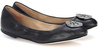 Tory Burch Liana leather ballerina shoes