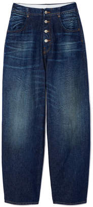 Maison Margiela High-Waisted Button-Down Jeans