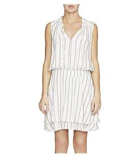 Camilla And Marc C & M Montana Stiched Stripe Smock Dress