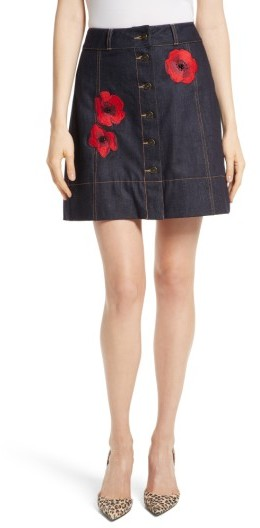 Women's Kate Spade New York Poppy Denim Skirt