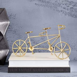 west elm Brass Bicycle Object