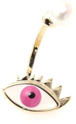 Delfina Delettrez Eye Earring 9kt Gold