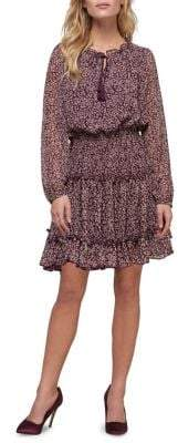 ABS by Allen Schwartz Collection Leopard-Print Fit Flare Dress