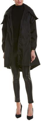 Valentino Logo Hooded Coat