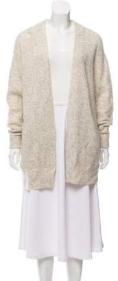 Acne Studios Mohair-Blend Open-Front Cardigan