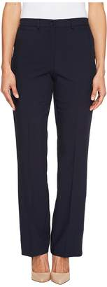 Tribal Petite Soft Twill Flatten It Straight Pants Original Fit 30 Women's Casual Pants