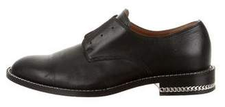 Givenchy Derby Double-Chain Oxfords