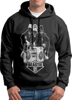 Sarah Men's Beastie Boys Radio Rapper Hiphop Hoodie XXL