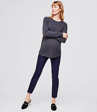LOFT Maternity Skinny Ankle Pants