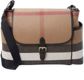 Burberry Plaid Diaper Bag