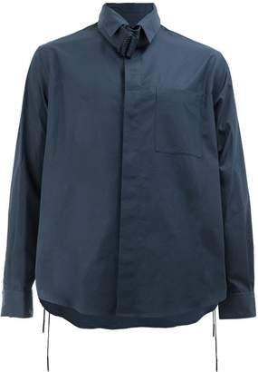 Craig Green banded collar shirt