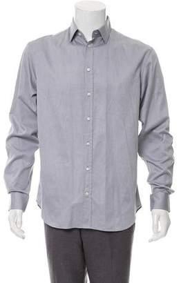 Armani Collezioni Woven Button-Up Shirt