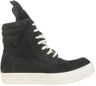 Rick Owens Geobasket High Top Sneakers